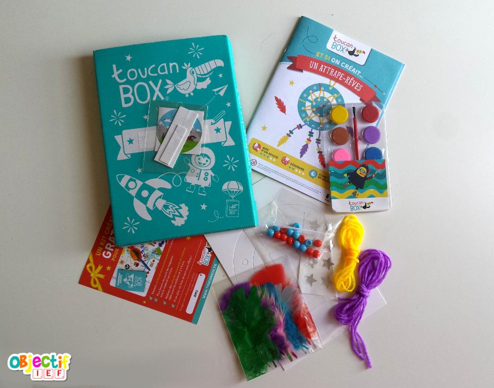 Toucanbox La Box Créative à Petit Prix Une Box Gratuite