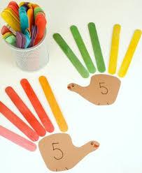 Bâtonnets de glace activité enfant Objectif IEF activité ludo éducative montessori