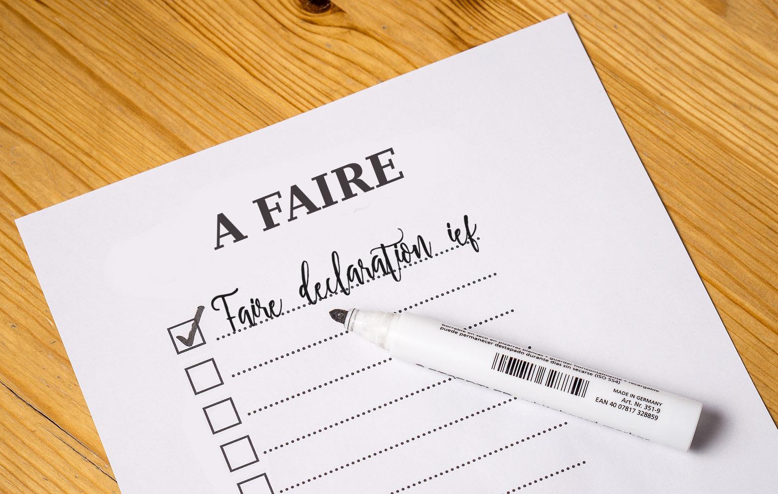 déclaration IEF académie mairie Objectif IEF