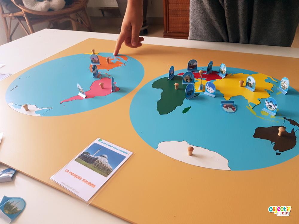 où se trouve cette mosquée jeu géographie ramadan mosquée monde continents montessori objectif ief