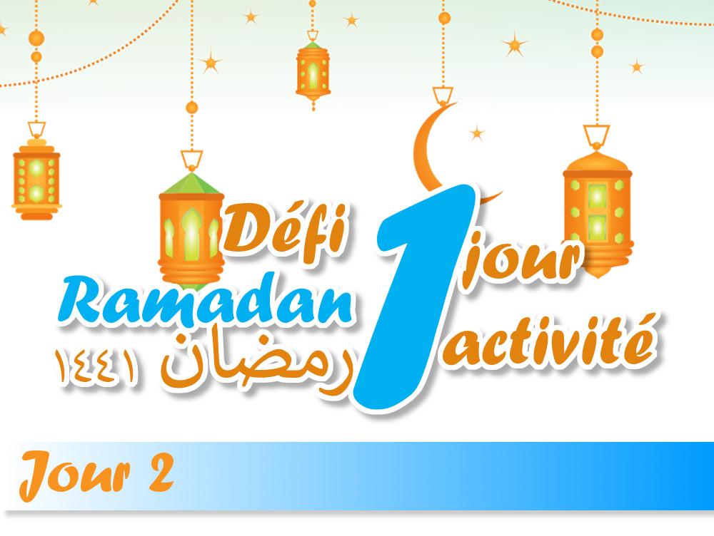 défi ramadan activité enfant ramadan islam kids activities jeune ramadan muslim