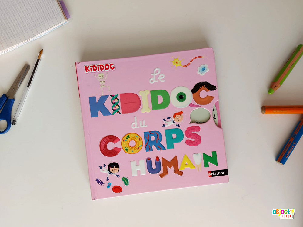 kididoc du corps humain revue livre jeunesse documentaire ief instruction en famille nathan corps