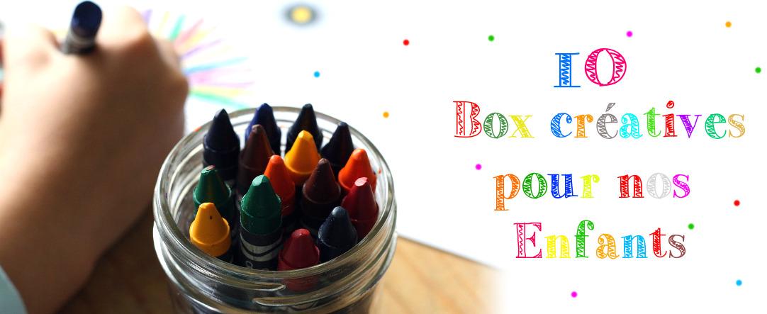 Box créatives pour les enfants
