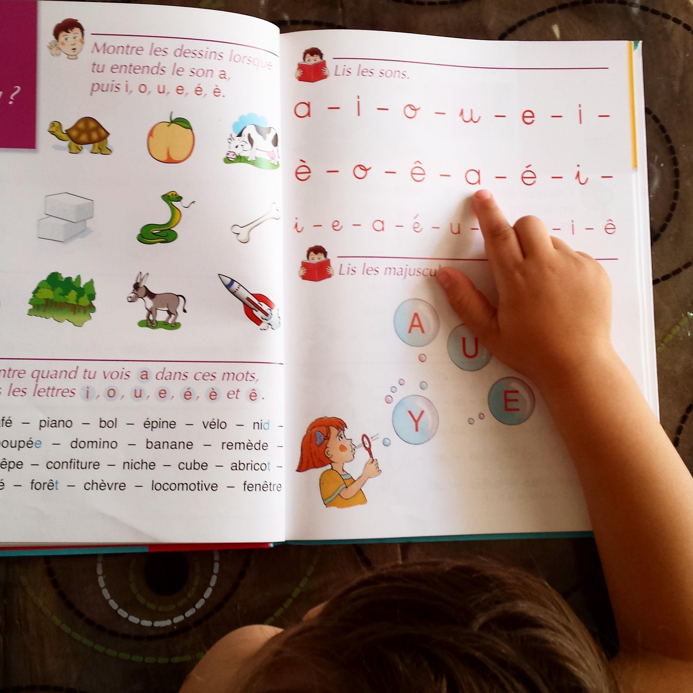début de lecture par où commencer apprentissage lecture objectif IEF