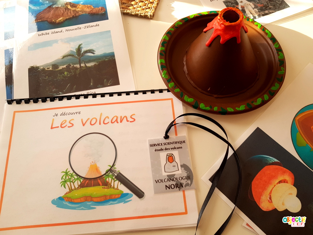 activité sur les volcans objectif IEF maquette supports gratuits
