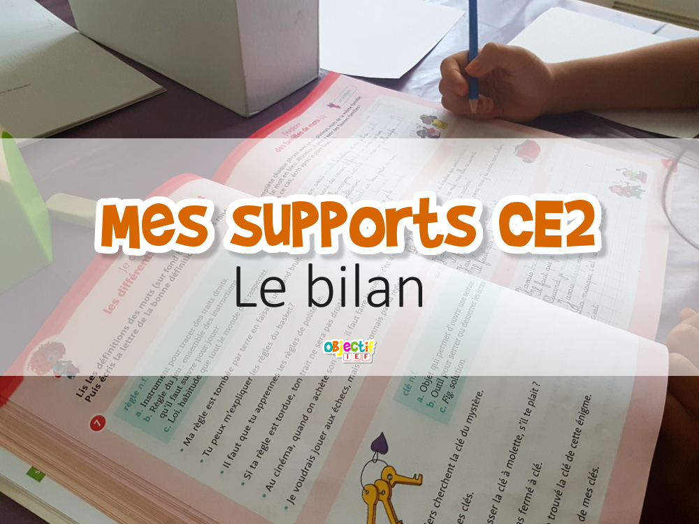 supports ce2 bilan manuels avis IEF instruction en famille programme ibjectif ief