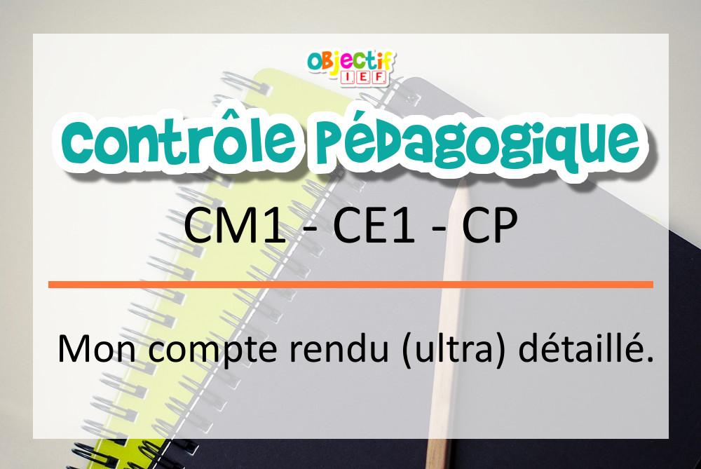 contrôle pédagogique inspection académique ief instruction en famille cm1 ce1 cp