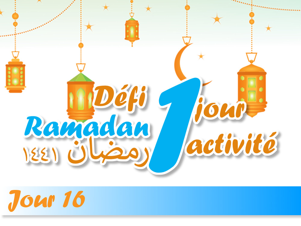 Le jeune de ramadan défi ramadan activité enfant ramadan islam kids activities jeune ramadan muslim