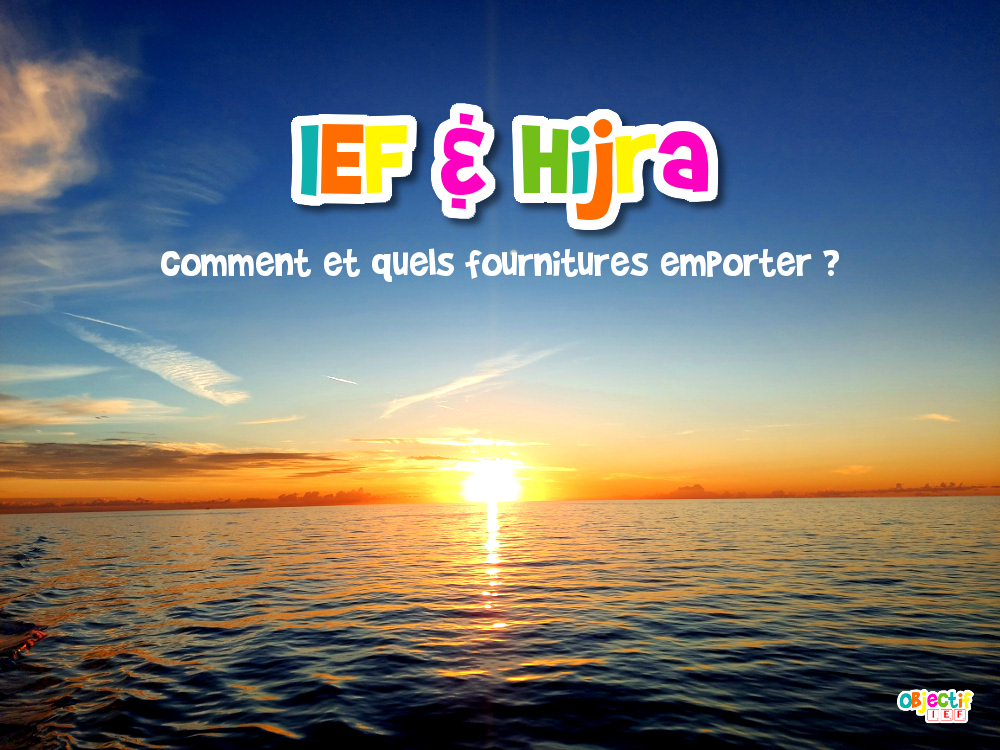 hijra ief maroc fournitures choix supports action